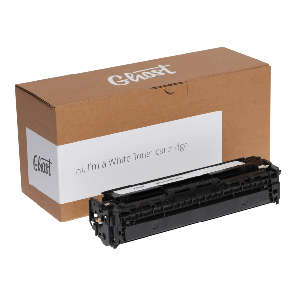 White Toner HP, Canon 1215W mit Verpackung