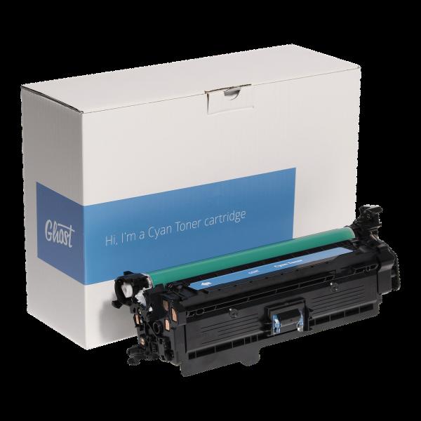 Cyan Toner 3525C mit Verpackung