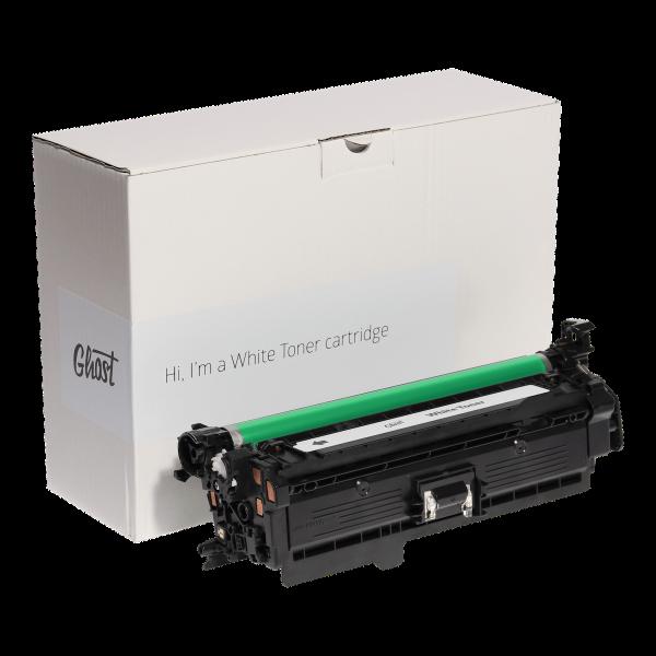 White Toner HP M551W mit Verpackung