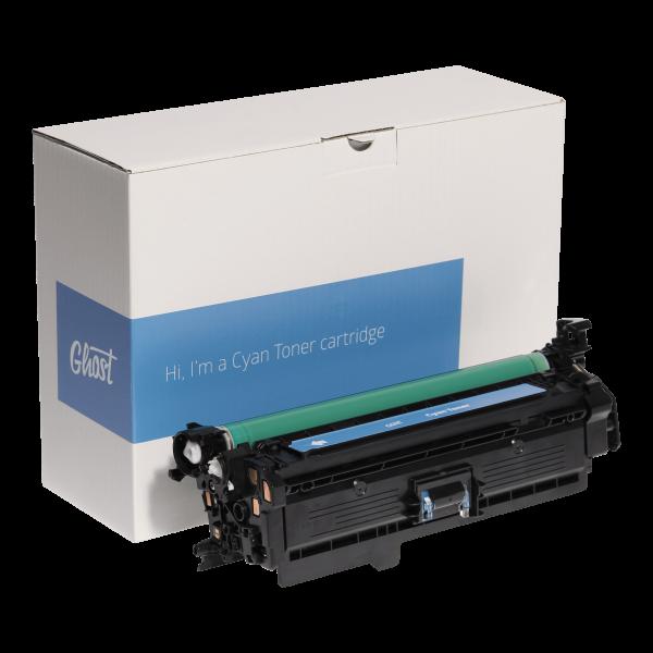 Cyan Toner HP M551C mit Verpackung