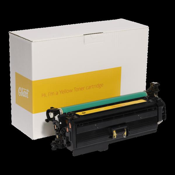 Yellow Toner HP M551Y mit Verpackung