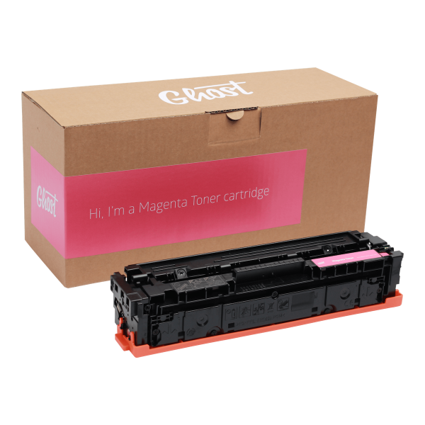 Little Ghost, Magenta Toner M254 mit Verpackung