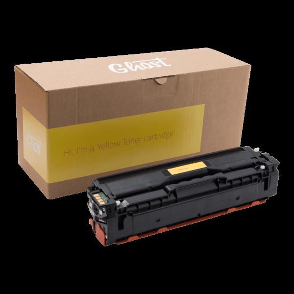 Yellow Toner Samsung CLP-415 mit Verpackung
