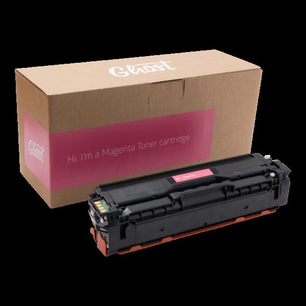 Magenta Toner Samsung CLP-415 mit Verpackung