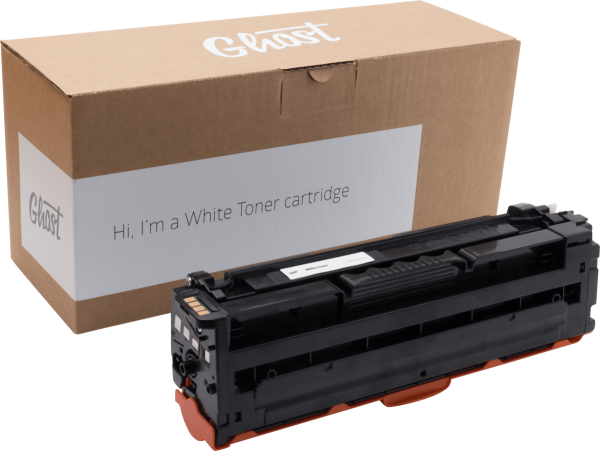 White Toner Samsung CLP-680 mit Verpackung