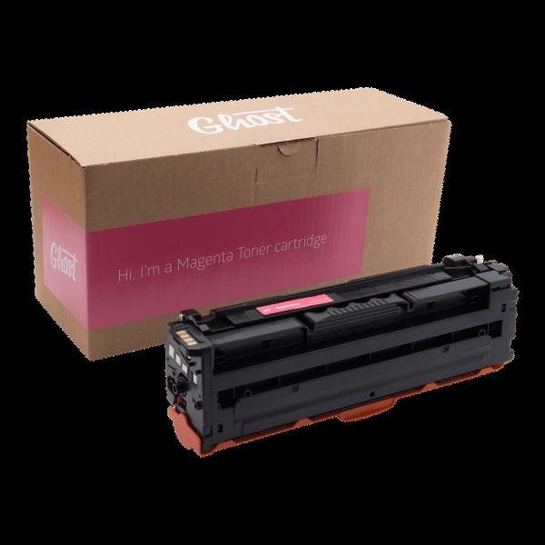 Magenta Toner Samsung CLP-680 mit Verpackung