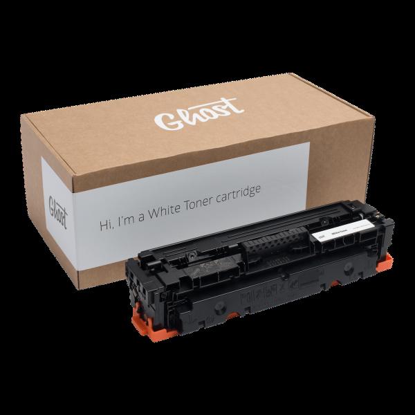 White Toner M452 mit Verpackung