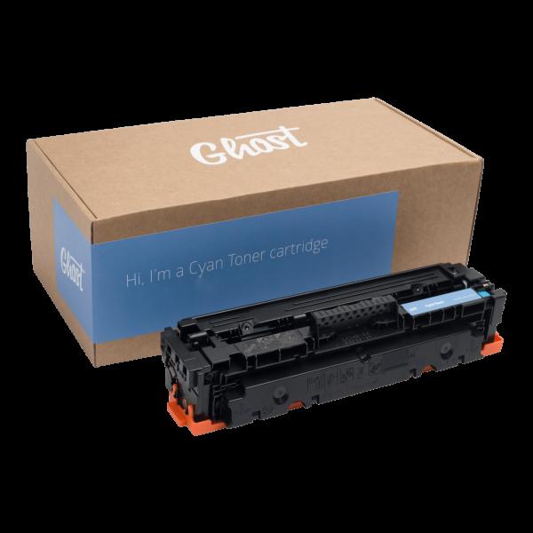 Cyan Toner M452 mit Verpackung