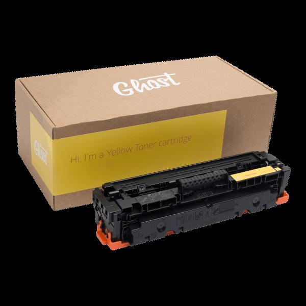 HP CF412A Yellow, Yellow Toner M452 mit Verpackung