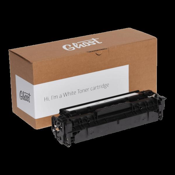 White Toner M254 mit Verpackung