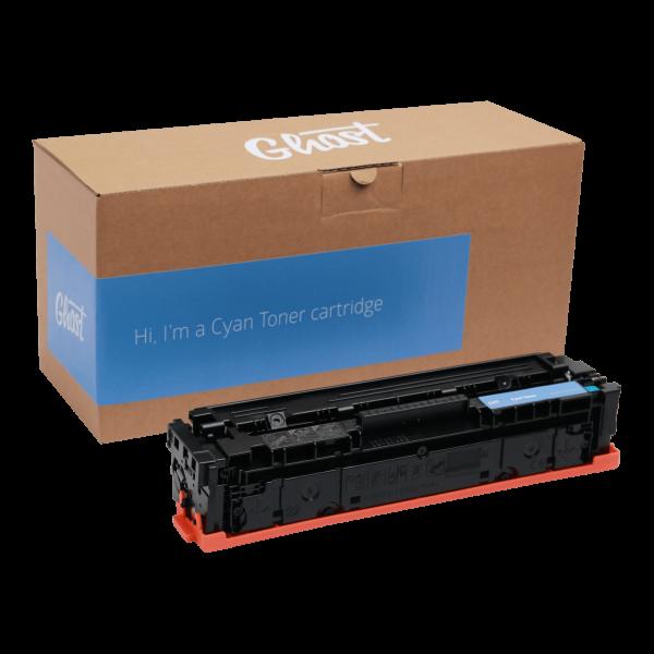 Cyan Toner M254 mit Verpackung