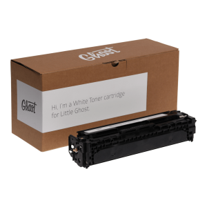 Little Ghost, White Toner 1525W mit Verpackung