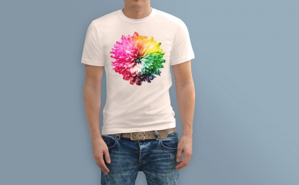 Polyester-Shirt-Sublimation-Druck