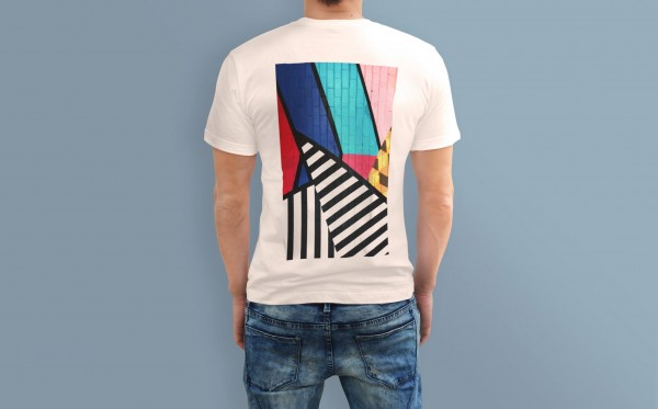 T-Shirt Blumenmotiv Sublimation