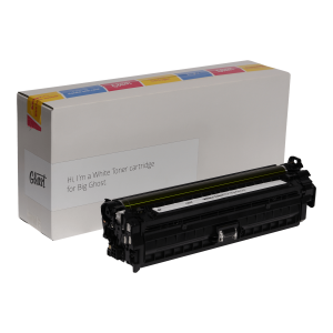 Big Ghost, White Toner 5525W mit Verpackung