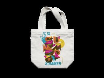 Carrier bag sublimation colour motif