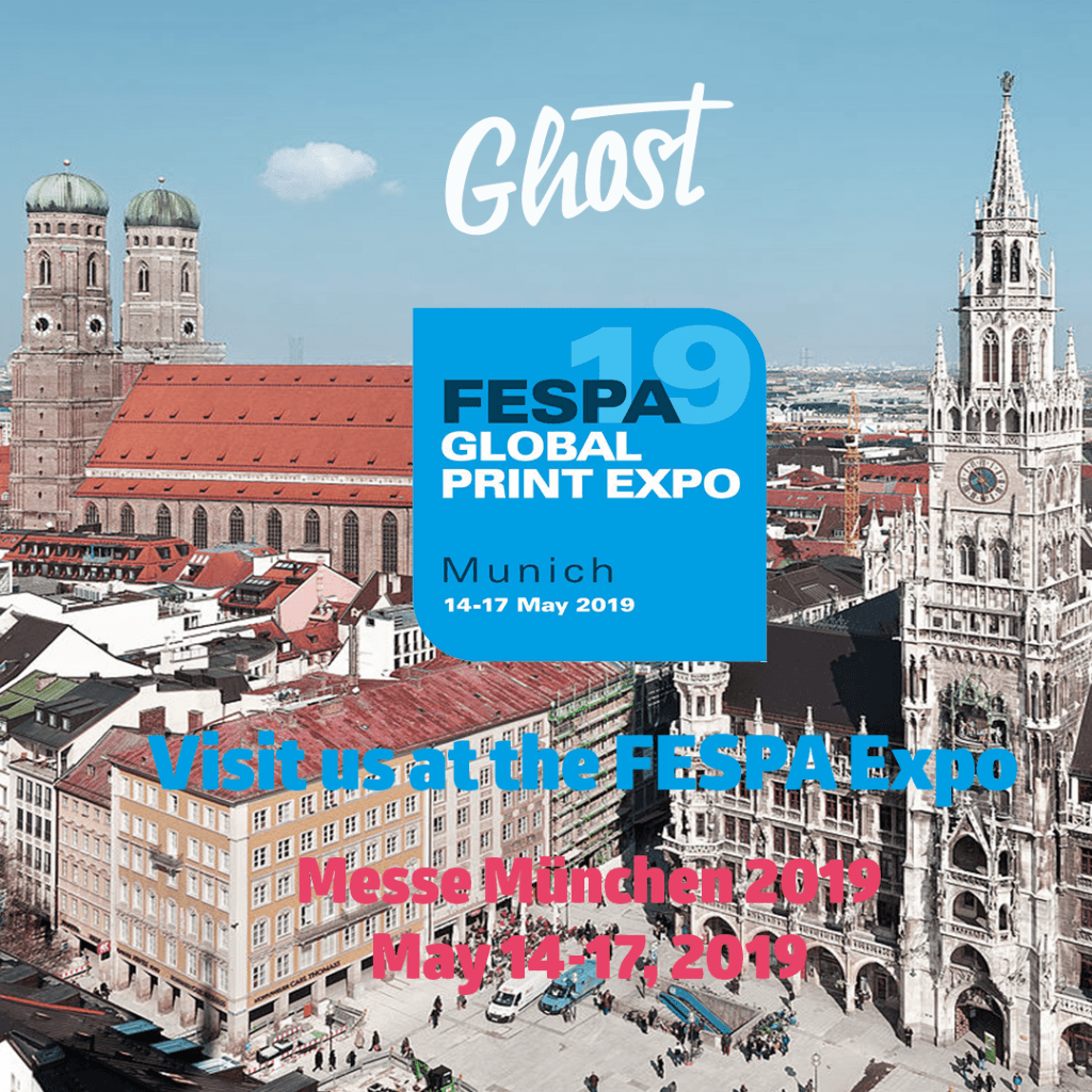 Visit us at FESPA Global Print Expo 2019