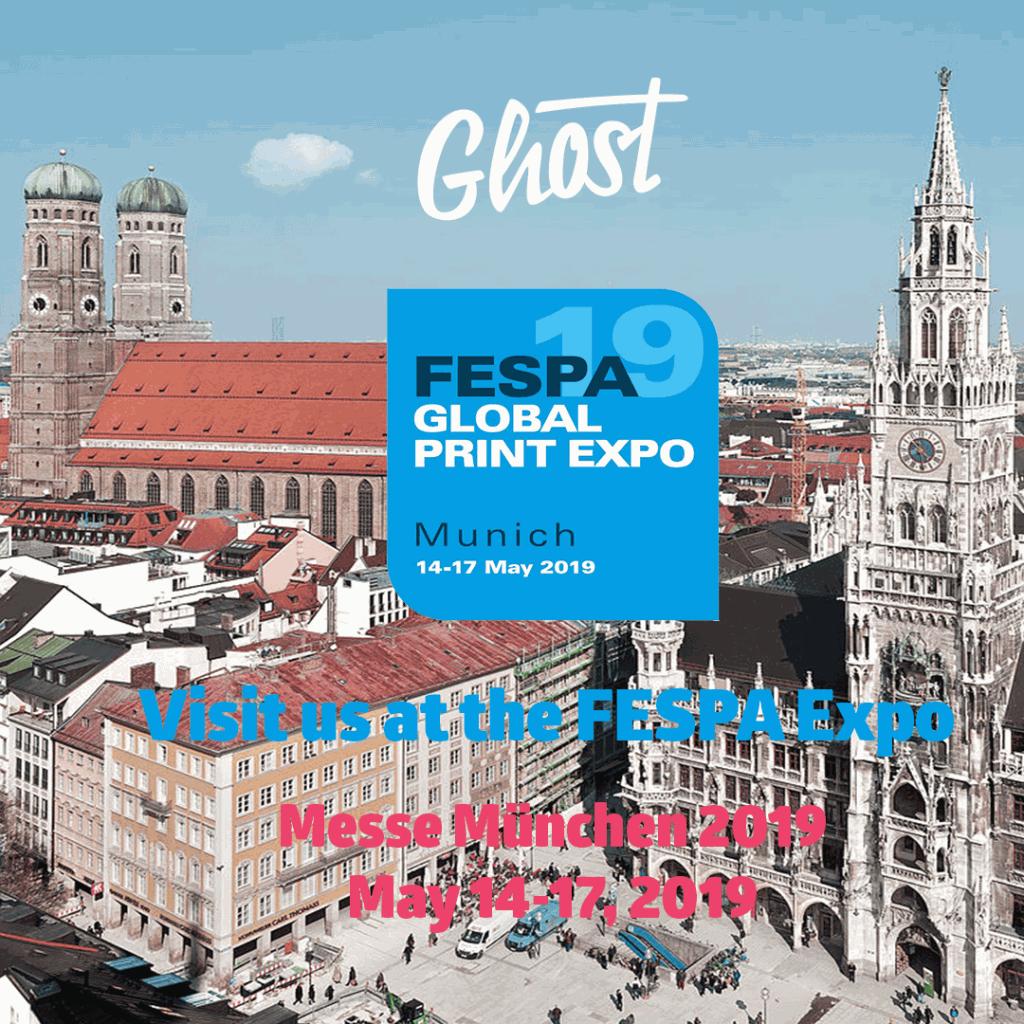 Visit us at FESPA Global Print Expo 2019