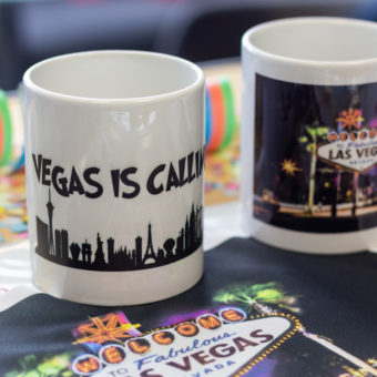 Las Vegas Tasse Sublimationsdruck