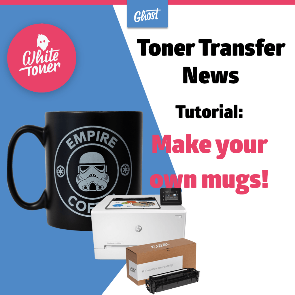 Transfer News: Tutorial make your own Coffee Mugs