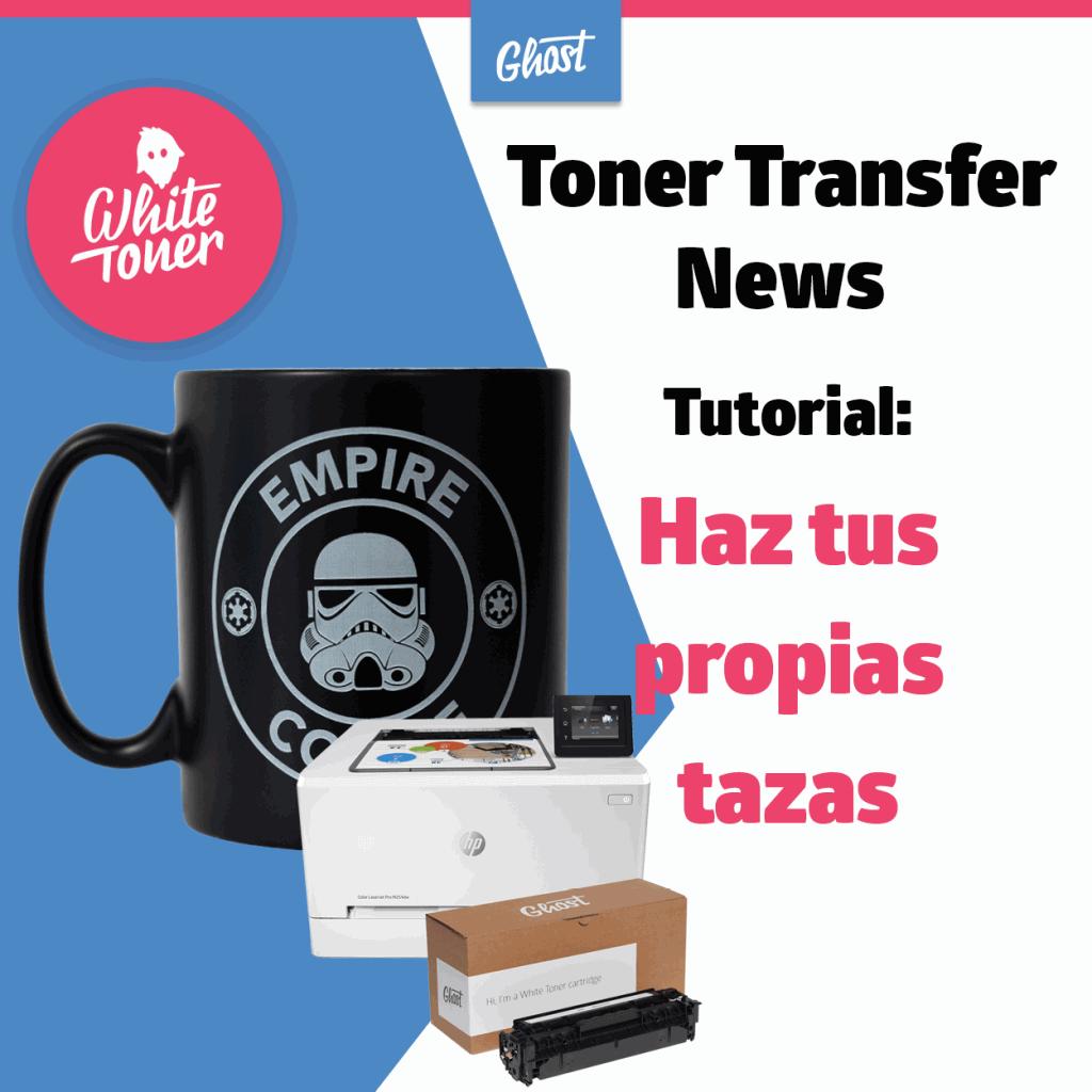 Transfer News: Tutorial para crear su taza de café individual
