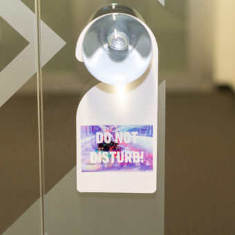 Door plate sublimation printing