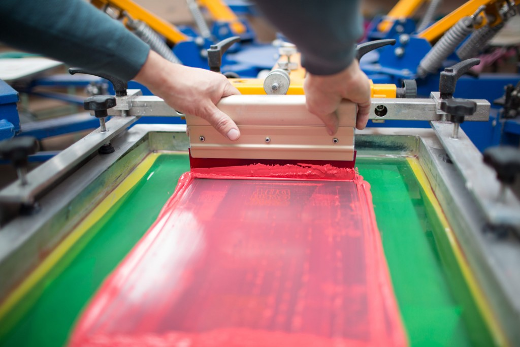 Screen printing as an excellent printing method
